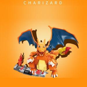 Pokemon Series Charizard Building Blocks Set 273pcs - USA SELLER