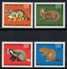(Ref-7324) Berlin 1968 Child Welfare (Animals)   SG.B310/B313  Mint (MNH)