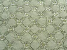 Zoffany Curtain Fabric ROSETTA 0.5m Asparagus/Leaf Embroidered Design 50cm