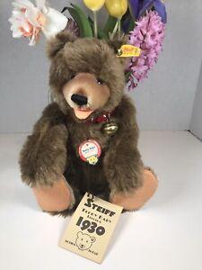 Steiff Teddy Baby Brown 12 Inches 29cm Replica