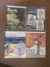 "VINTAGE ""PUNCH"" MAGAZINES X4, 2nd, 16th, 23rd, 30th SEPTEMBER 1964."