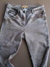 BiBA Ladies Size 10 Trousers W30 L32 Light Brown Straight Fit Jeans