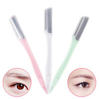 3pcs Women Face & Eyebrow Hair Removal Safety Razor Brow Trimmer Tool Set YEAB