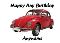 PERSONALISED MOTOR CAR MECHANIC REPAIR GARAGE BEETLE BIRTHDAY FATHERS DAY CARD
