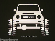 Suzuki Samurai_JX Rock Crawler_Sami_Sticker/Decal -05