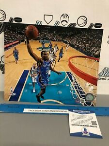 KEVIN DURANT SIGNED AUTOGRAPHED 8x10 BASKETBALL PHOTOGRAPH BECKETT BAS COA