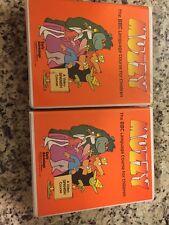 Muzzy Bbc Language Course Spanish English Vhs Cassette Book 1-6