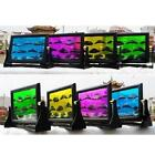 Color Moving Sand Glass Art Picture Photo Frame Home/Office Decor Desk gift W