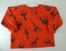KEEDO South Africa Sz. XX SMALL 2T Tee Shirt Long Sleeve Cotton Boy Giraffe