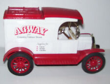 Agway Country Store 1913 Model T Diecast Coin Truck Bank Scarce 1st Year 1986