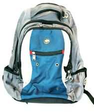 Swiss Gear Black Airflow Laptop Backpack Excellent Condition Gray TSA Blue White