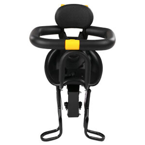 Kid Bike Safety Stable Baby Child Bicycle Front Chair Carrier Sport Cycling Seat