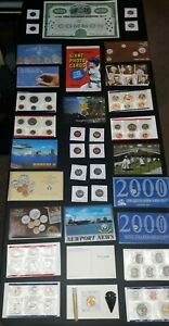 COIN LOT collection MINT SETS OLD US Coins Train bond proof +mor NO JUNK DRAWER