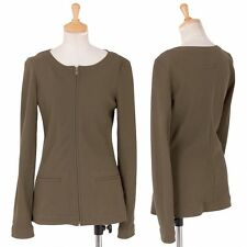 Jean Paul GAULTIER FEMME zip-up cotton jacket Size 40(K-32251)
