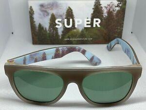 Retrosuperfuture 810 Flat Top Foresta Frame Size 55mm Sunglasses NIB