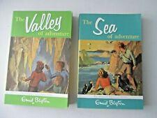 Lot of 2 Sea of Adventure & Valley (Adventure Series) Blyton Enid FREE SHIP book