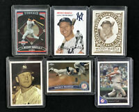 Lot of 6 Topps Mickey Mantle Cards - 2011 Chrome 2006 Bazooka Lineage 2007 1954