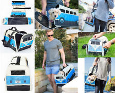VW Campervan Pet Carrier with Carry Handle and Strap