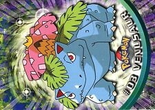 POKEMON TOPPS English of 1998 (Mint) N°     3 VENUSAUR FLORIZARRE