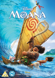 Moana DVD (2017) Ron Clements cert PG Highly Rated eBay Seller Great Prices