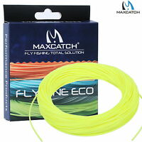 Maxcatch Fly Line WF 2/3/4/5/6/7/8F Trout Yellow/Green/Orange Fly Fishing Line