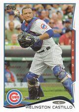 2014 Topps #561 Welington Castillo Chicago Cubs
