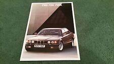 1988 1989 BMW 730i 735i 735iL - UK 2/88 BROCHURE 7 Series E32