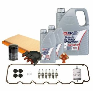 OEM Tune Up and Filters Kit with Oil For BMW E30 325e 1984-1985