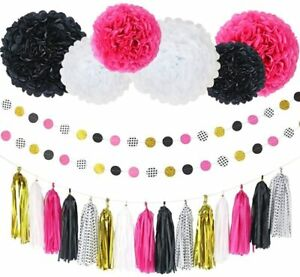 Party Decorations Kit - 23 Pcs Set for Any Holiday and Event Birthday Decoration
