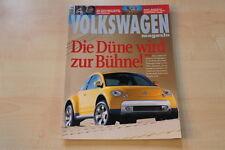 70999) VW Golf I Cabrio - Sharan - Lupo 3L TDI - Volkswagen Magazin 04/2000