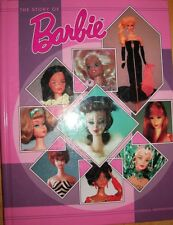 BARBIE DOLLS The Story of Barbie BOOK Color Picture's descriptions Hardback