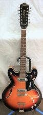 Vintage Framus 1960's 12 String Electric Hollow Body Guitar W/Hard Case
