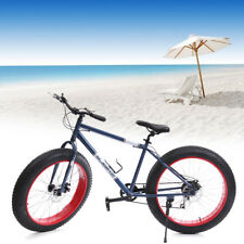 "26"" HERREN FAT BIKE 7 GANG MOUNTAINBIKE Schnee FAHRRAD Strandritt FAT TIRE BIKE"