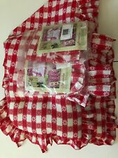 Dog Sentiment cushion Vintage Gingham Style Gifts 65946