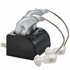 ❤ Rechargeable Pair Digital Hearing Aids Sound Amplifier Personal Ear Value Usb