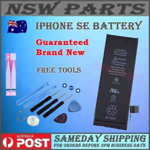For iPhone SE Brand New Internal Battery Replacement 1624mAh + Free Tool Kit