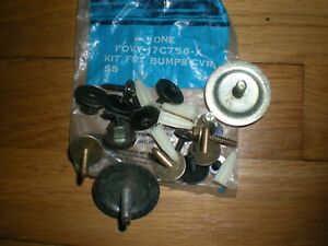 NOS 1990 - 1993 Lincoln Town Car Front Bumper Hardware Mounting Kit F0VY-17C756
