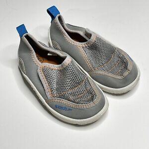 Speedo Surfwalker Water Camp Shoes Slip On Toddler Size 7-8 Gray