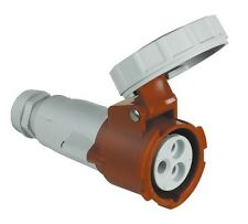BTICINO CPM432/63 PRESA MOBILE IND DRITTA 32A 400V 3P+T 50-60HZ IP67