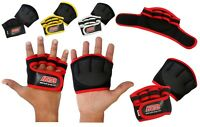 GRIP PADS WEIGHT LIFTING GRIPS FITNESS BODY BUILDING TRAINING GYM GLOVES HG-579