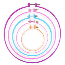 Embroidery frame embroidery ring hoop cross needle - 5pcs circle W9V2