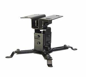 Luxburg® Universal Projector Aluminium Ceiling Mounted Bracket kit - Black