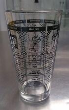 16oz. Bar RECIPE COCKTAIL MIXING & STIRRING GLASS Boston Martini Shaker