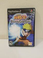 PS2 Naruto: Uzumaki Chronicles 2 (Sony PlayStation 2, 2006) Disc Only Tested