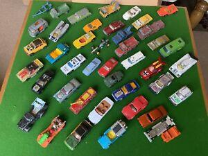 Vintage Lesney Matchbox & Corgi Juniors Diecast Models - Job Lot - Cars, Trucks