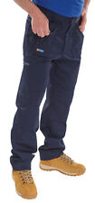 Click Action Trousers Navy