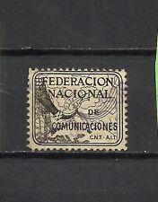75-SELLO VIÑETA GUERRA CIVIL 1938 REPUBLICA C.N.T. Y F.A.I.COMUNICACIONES.2 PT