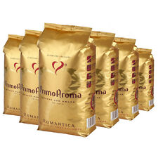 6 x 1000 g Primo Aroma Espresso Caffe ROMANTICA Qualitätskaffee Bohnenkaffee
