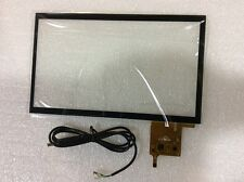 """10.1"""" 16:9 Digitizer Multi-point capacitive Touch screen Panel Glass + USB Cable"""