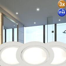 3x Plafond Encastrable Montage Spot Lumières la Vie Bain Chambre Accent Lumières